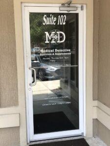 Ocala FL Medical Marijuana Doctor door entrance