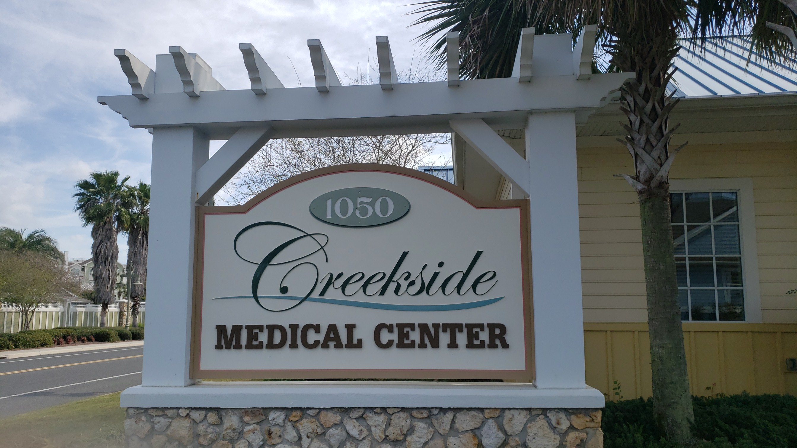 Creekside MMTCFL Sign
