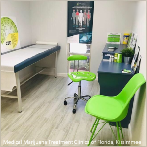 Orlando Fl Medical Marijuana Doctor exam room