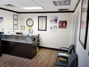 Lakeland Fl Medical Marijuana Doctor lobby and chairs