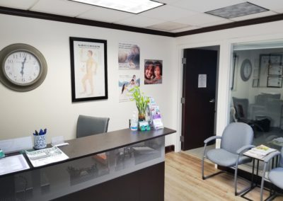 Lakeland FL medical marijuana physician waiting room