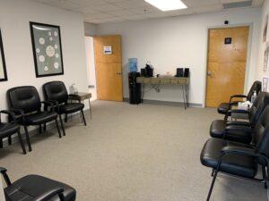 Jacksonville FL medical marijuana physician waiting room
