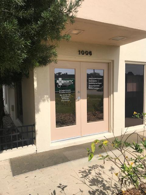 the villages medical marijuana entrance